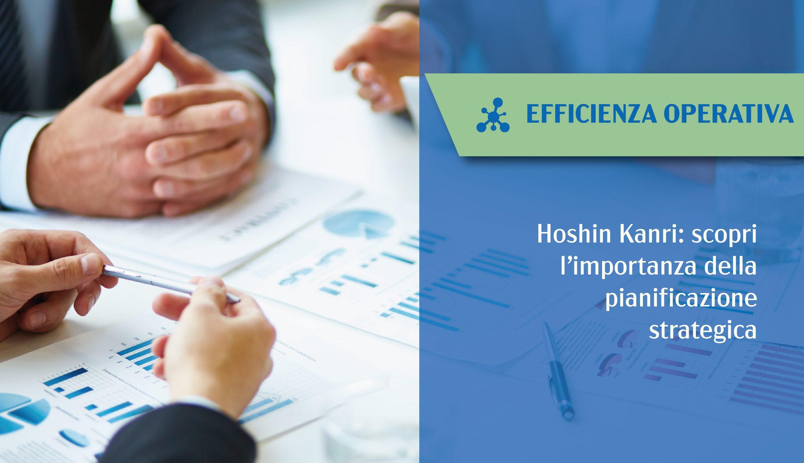 Hoshin Kanri pianificazione