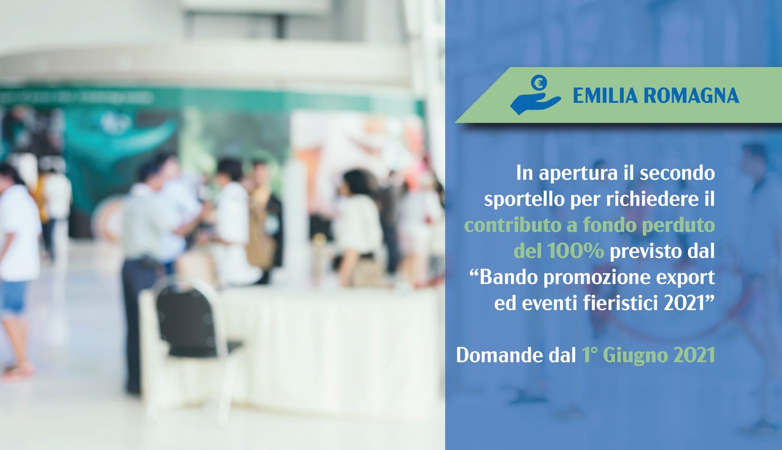Emilia Romagna export ed eventi fieristici