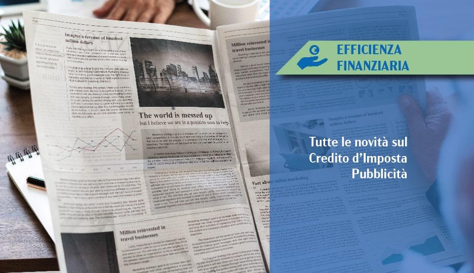 credito d'imposta pubblicità