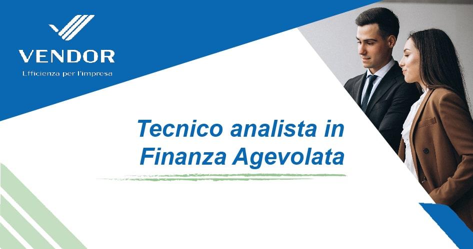 Tecnico Analista Finanza Agevolata